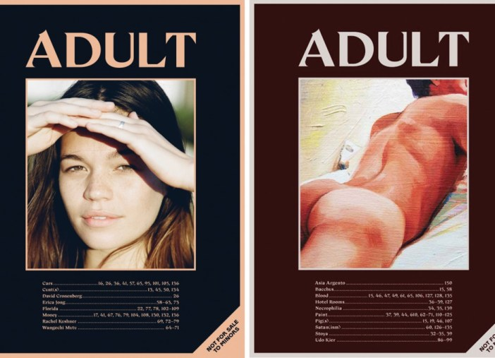 ADULT magazine cOVEr