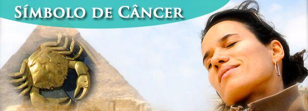 símbolo de câncer