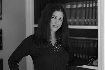 B&W photo of author Penelope Ward