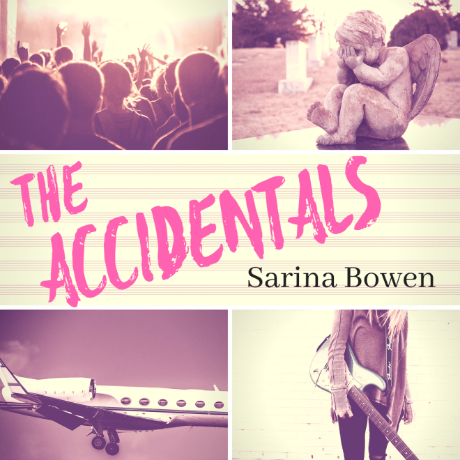 Promo banner for The Accidentals by Sarina Bowen