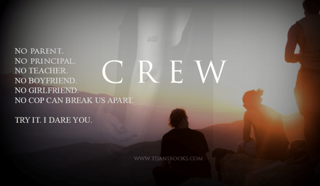 A teaser photo and quote from CREW