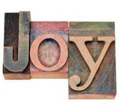 wood block Joy