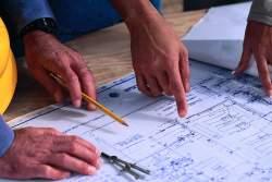 Going over a blueprint