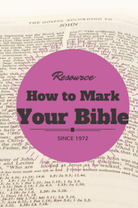 graphic resource how to mark your bible