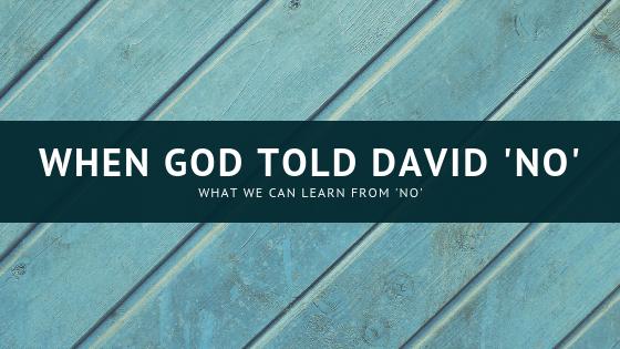 when God told David no title graphic