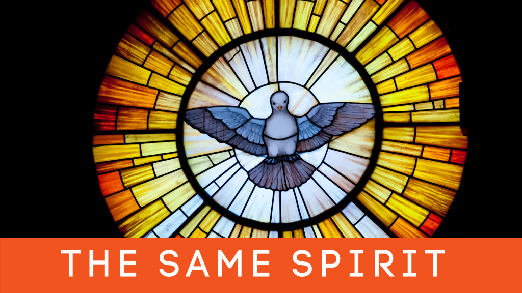 The Same Spirit title graphic