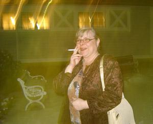 rökpaus i kylan
