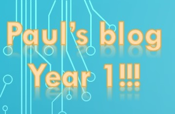 Paul blog Year 1