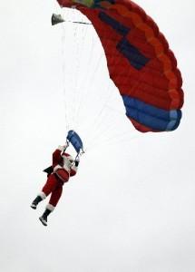 Santa visits Slidell, LA