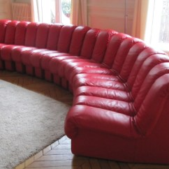 De Sede Sleeper Sofa Who Makes The Best Sectional Sofas Ds600 Ed Red Leather 17 Elements Paul Bert Serpette Desede Snake
