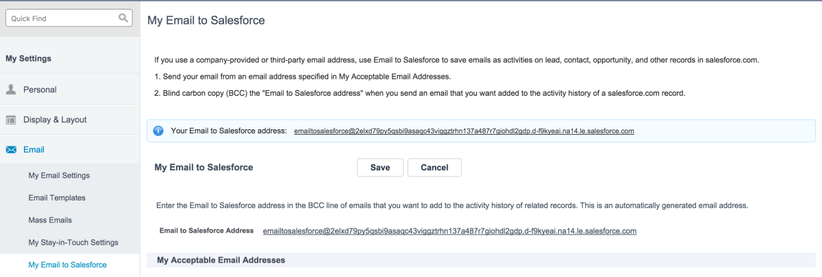 Navigating Emails Options For Salesforce Paul B Fischer
