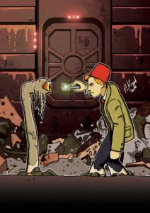 Dr Who vs Dianoga