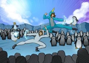 Penguin Warriors