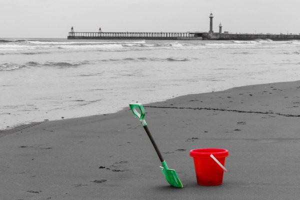 Bucket and spade, Whitby