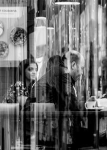 Time for Coffee (black and white)