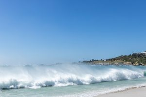 Waves and Spray