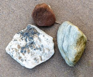 Three rocks