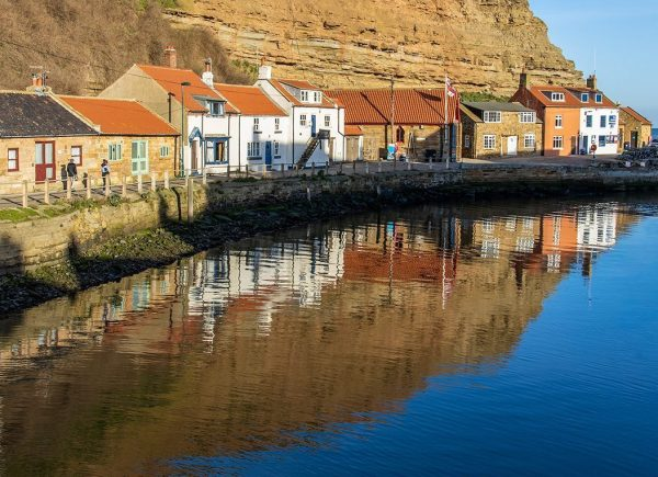 Reflections in Staithes