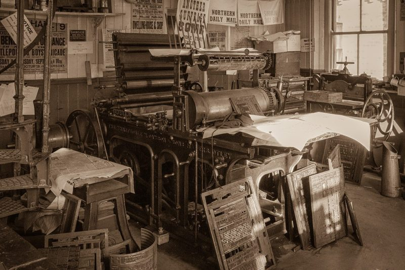 Wharfedale Printing Press