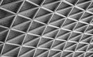 Kings Cross roof - mono