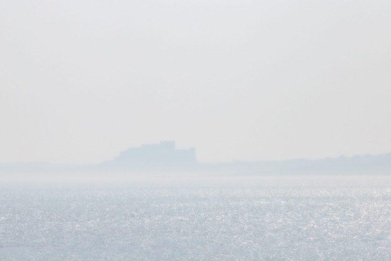 Bamburgh in the mist