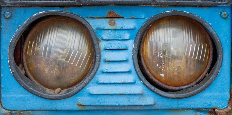 11979 Belarus Tractor Headlmps