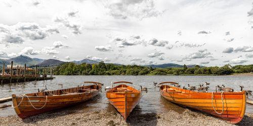 Rowing Boats, Keswick