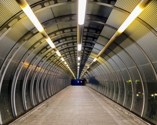 Tunnel in Docklands