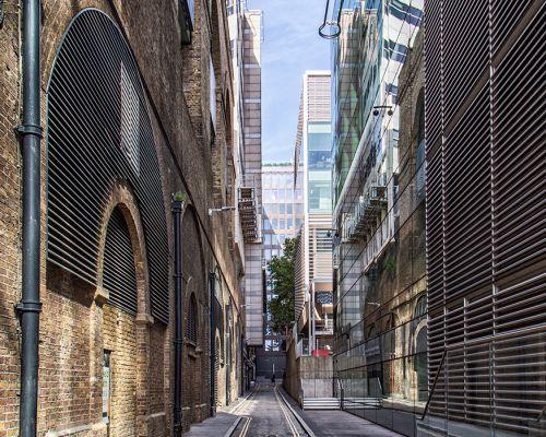 Narrow London Street