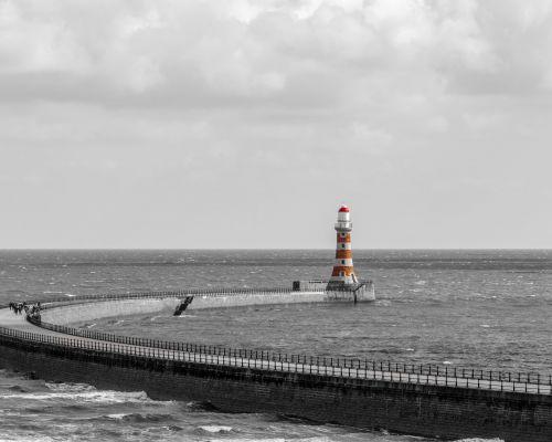 Roker Lighthouse, Sunderland