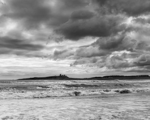 Stormy Clouds over Dunstanburgh