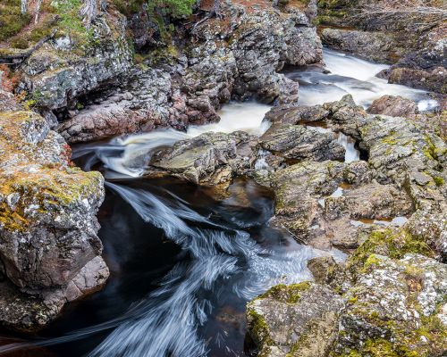 The falls of Truim
