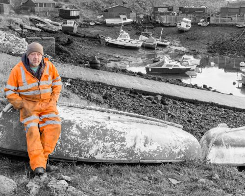 Boatman, Paddy's Hole near Redcar