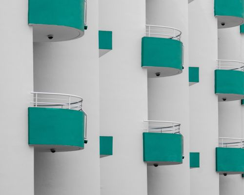 Balconies, Protaras, Cyprus