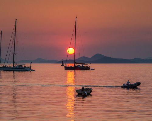 Sunset at Cavtat