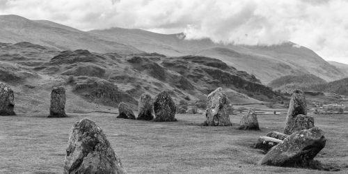 Castlerigg Stone Circle (Monochrome)