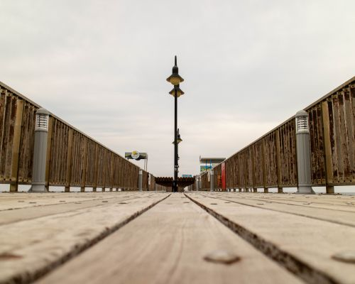 Short pier Protaras, Cyprus