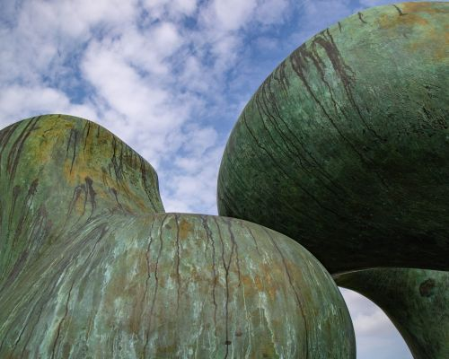 Henry Moore Two Large Forms at Yorkshire Sculpture Park
