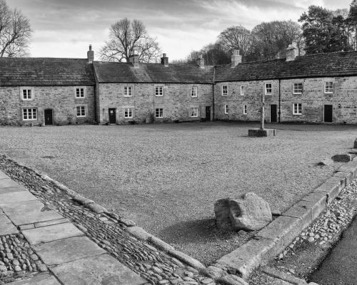 Blanchland houses