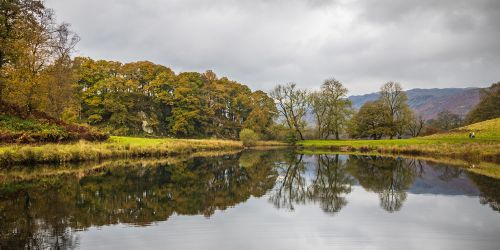 Reflections in River Brathay