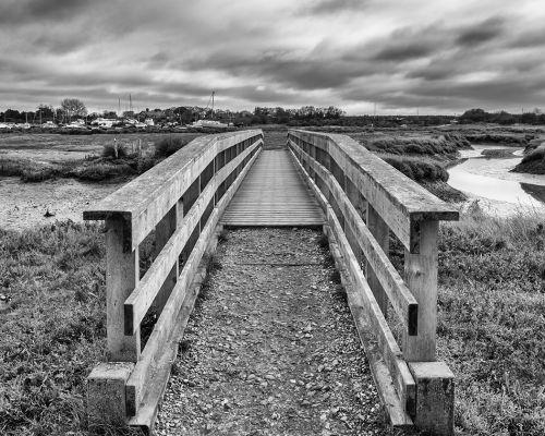 Bridge to the quays