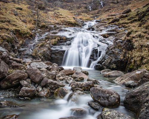Waterfall on Warnscale Beck