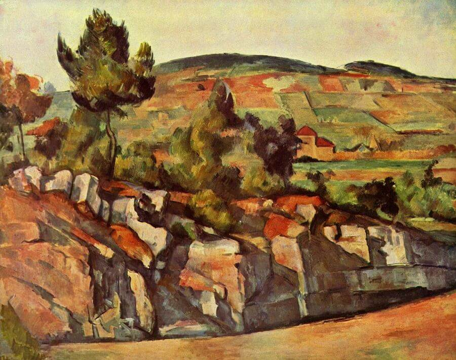 Mountains in Provence 1886 by Paul Cezanne