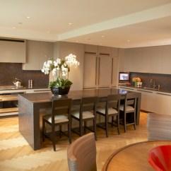 Kitchen Design Center Brushed Bronze Faucet Paul Davis New York - Central Park South Penthouse