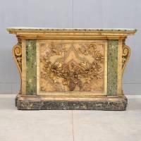 Baroque style console table | De Grande Antique Furniture