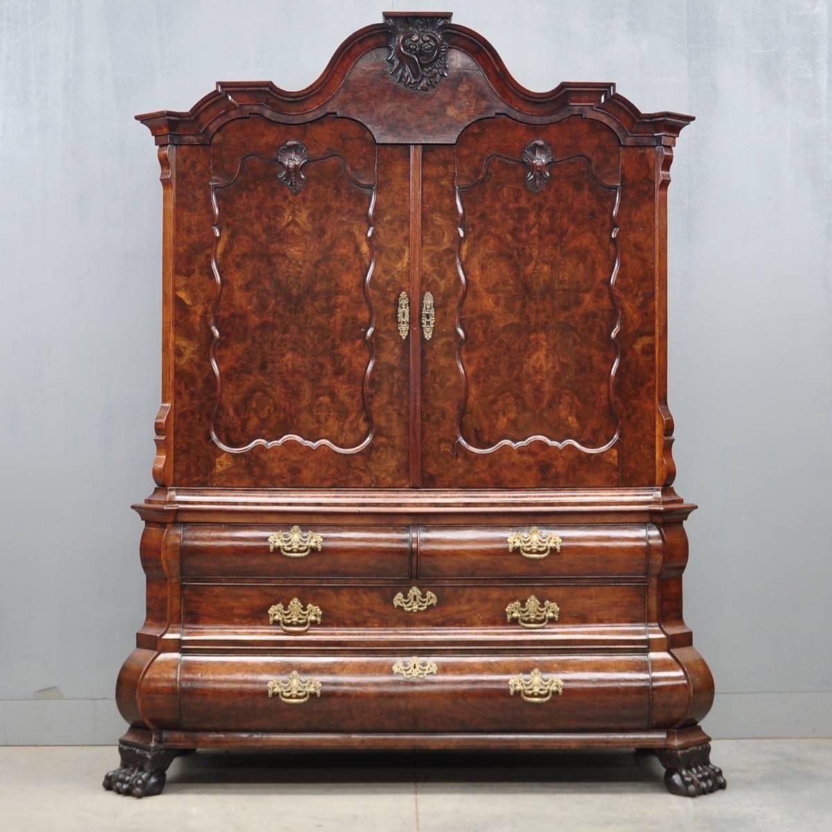 ivory sofa set cover image antique dutch walnut cabinet | de grande furniture