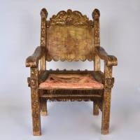 16th century Mexican chair