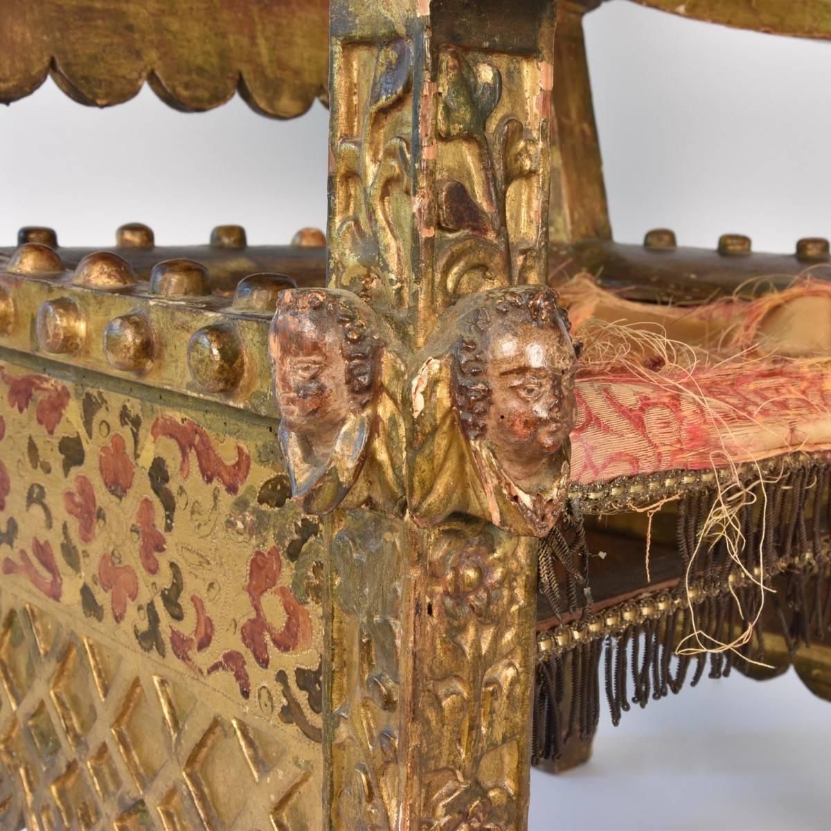 16th century Mexican chair