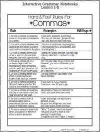 Printable Worksheets  Comma Worksheets For High School ...