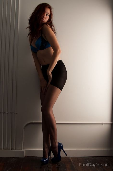 Nordstrom Ultra Sheer Control Top pantyhose model